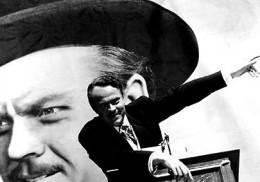 Orson Welles as Charles Foster Kane in Citizen Kane. Source: Wikimedia Commons, Public Domain.