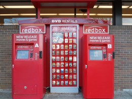 DVD rentals are $1 per night from Redbox.