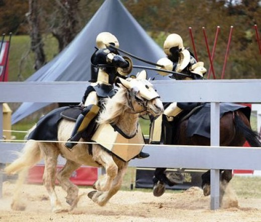 First episode of full metal jousting