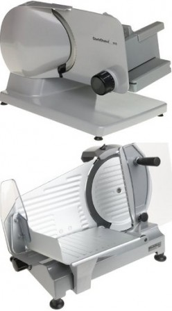 Electric Meat Slicers - Automatic Food Slicer Machines Cut Meats, Cheeses, Bread and Veggies