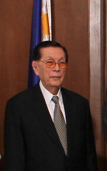 Juan Ponce Enrile is Currently the Senate President