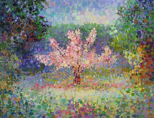 """Blooming Tree,"" Angelo Franco, 2007"