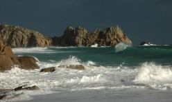 Stormy Porthcurno