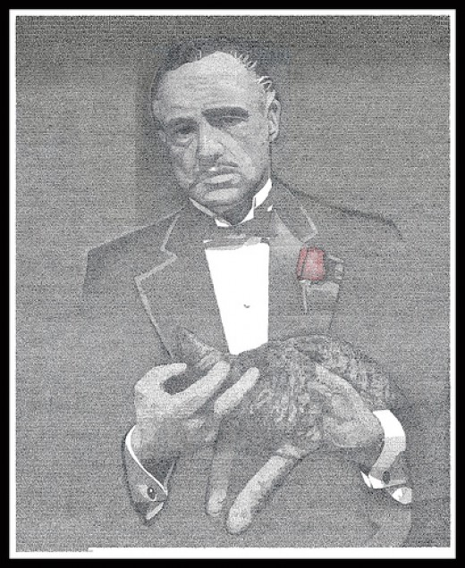 Marlon Brando as 'The Godfather'. Source: labnol, Flickr creative commons, CC BY 2.0.
