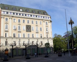 The Norrmalmstorg Branch of Kreditbanken