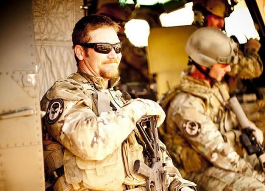 Chris Kyle on a mission