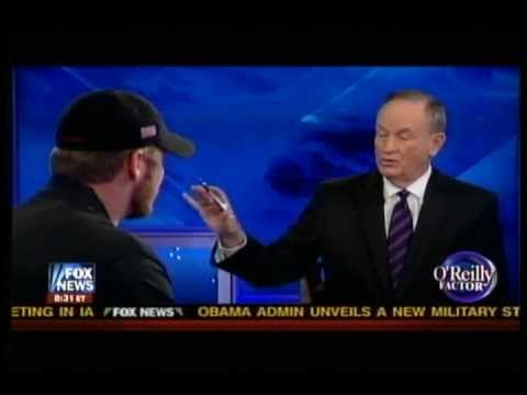 Kyle told Bill O'Reilly he had no regrets about his many kills.