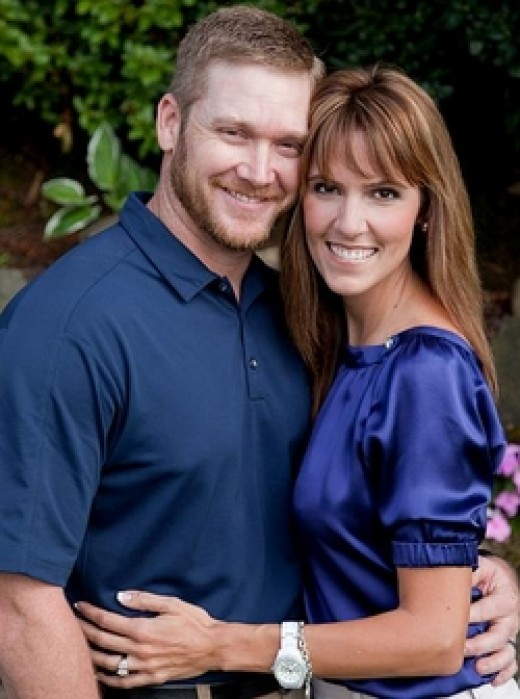 Chris Kyle and his wife Taya