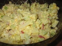 Simple And Easy Homemade Potato Salad