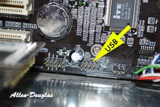 motherboard usb pins