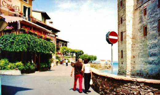 Views of Lake Garda from Sirmione