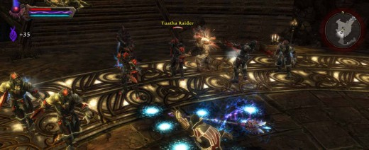 Kingdoms of Amalur Theater of Fate - Surrounded by Tuatha Warriors