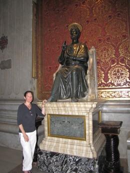Bronze Statue of St Peter