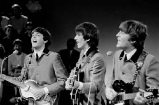 The Fab Four debuted on the Ed Sullivan Show in 1964.  After that, there was no turning back.