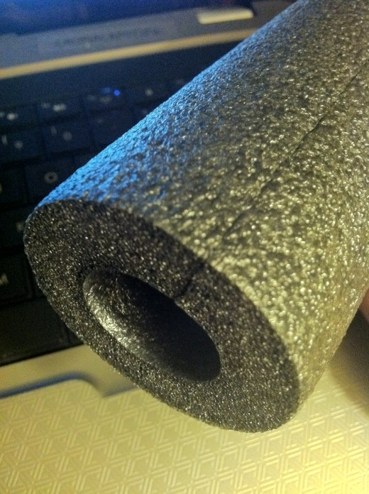 Regular plumbing pipe insulation