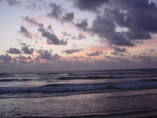 Waiting for Sunrise At the Kauai Beach Resort