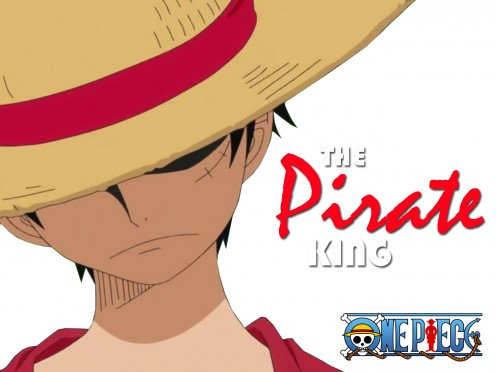 This is a very simple yet good looking wallpaper with Monkey D. Luffy in it.