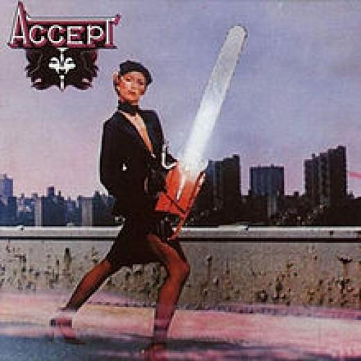 Accept's first album, 1979.