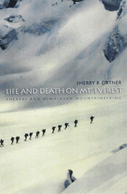 "An ethnography of the mountaineers of Mt. Everest, including the ""sahibs"" and ""sherpas"", this is not your typical ethnography and involves a lot of action.  Very interesting read."