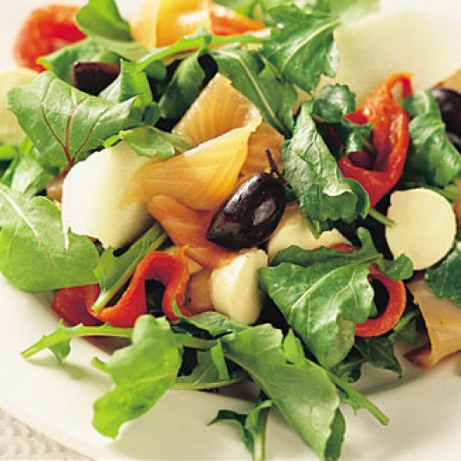 Thanksgiving Salad Idea 1 - Sour Cream Cherry Fruit Salad Mold
