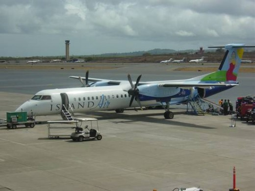 Island Hopping on the Bombardier Q400