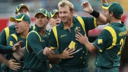 A brilliant bowling performance from Ben Hilfenhaus and Brett Lee led to the  Aussie victory