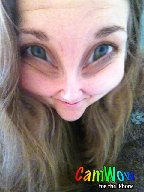 CamWow is an app similar to PhotoBooth on the Mac. It has a variety of filters to distort images.