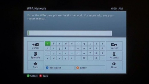 If your wireless network has a password, you'll have to enter it to access the network.
