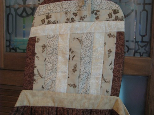 Quilt Top in Earth Tones