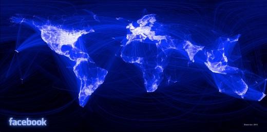 Visual Facebook Network