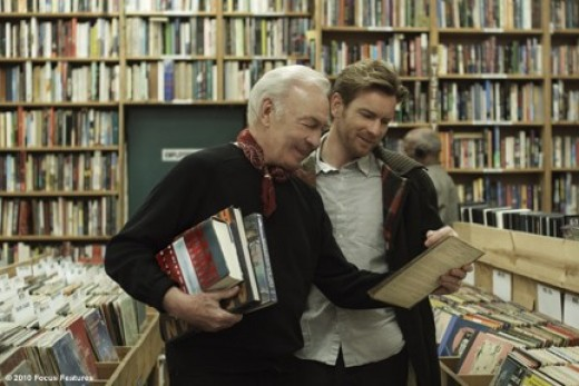 "Plummer and McGregor do a little shopping in ""Beginners."""