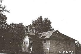 Schoolhouse in Rhea Springs.