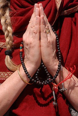 Turning Prayer into Action from Jennifer Esperanza  Source: flickr.com