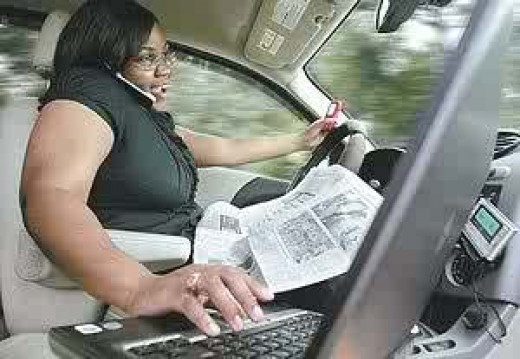 Distracted Driving is Dangerous Driving!