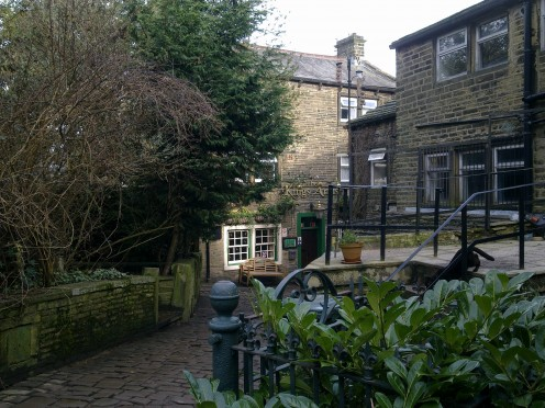 Back streets of Haworth