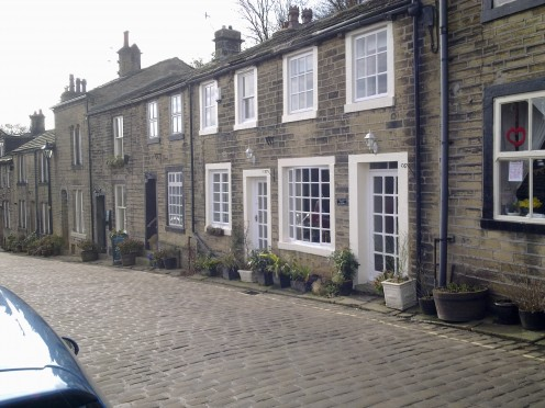 Traditional Yorkshire stone cottages