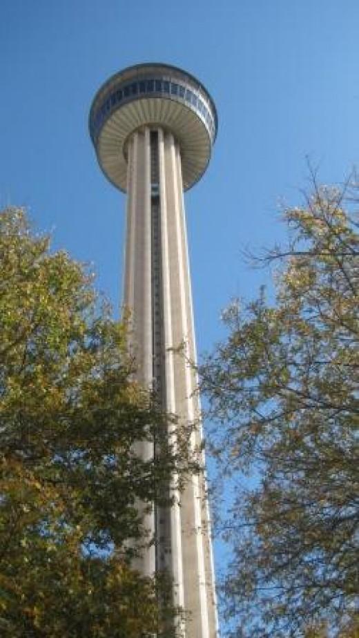 Tower Of The Americas in Hemisfair Park in downtown San Antonio