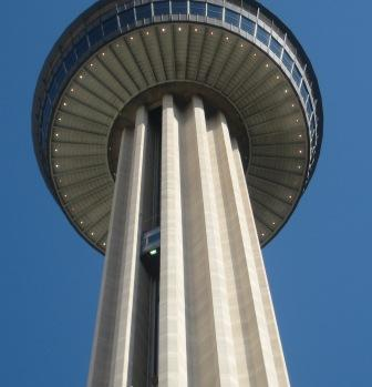 Tower Of The Americas in Hemisfair Park in downtown San Antonio