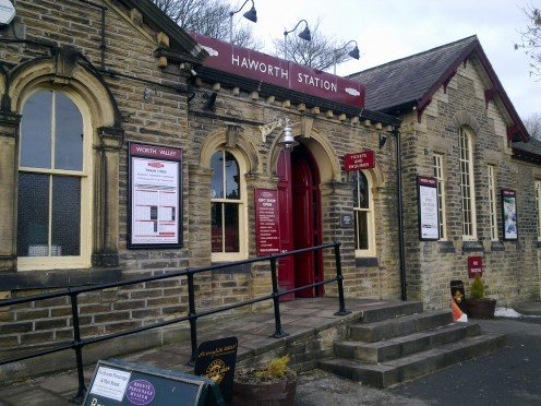 Haworth railway ticket office