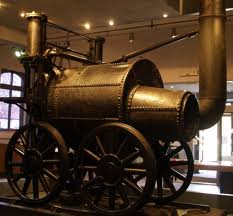 Timothy Hackworth's 'San Pareil', the original at Shildon Railway Centre along the road from the NRM's LOCOMOTION exhibits