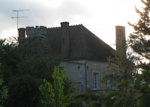 The stonemason's house and mill