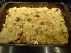 Great Coconut Oil Bread Pudding