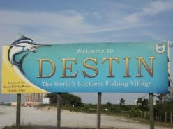 Living The Aquatic Life In the Destin Florida Panhandle - the 100 Fathom Curve