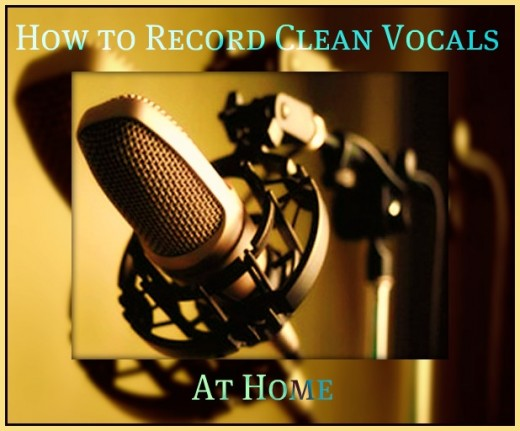 This Hub is designed to give Tips on How to Record Clean, No Distortion Vocals at Home.