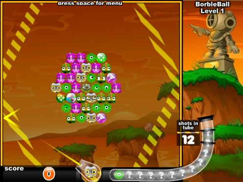 rotating bubble town game play