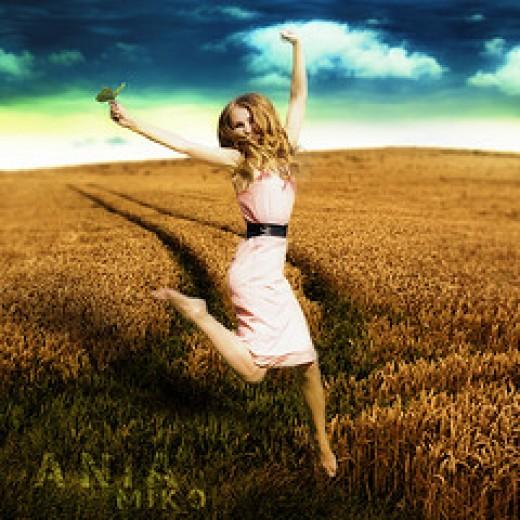 Leap of Joy from Poe Tatum Source: flickr.com
