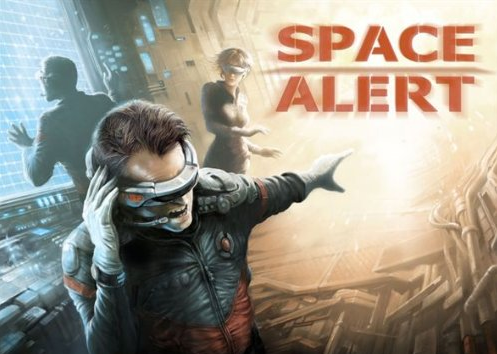 Space Alert - Protect the ship as a team!  Will you all win?