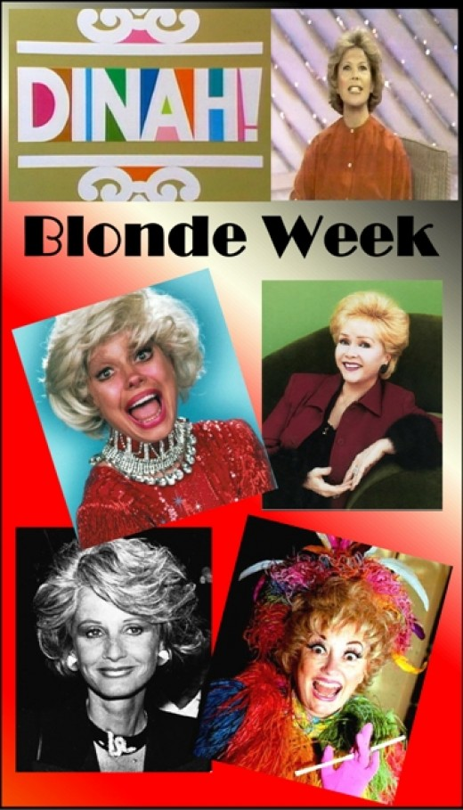 """Blonde Week"" Dinah Shore Show"