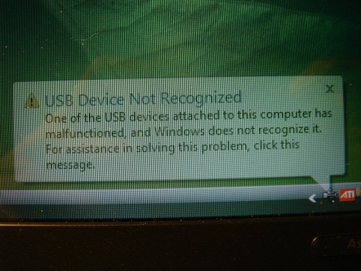 Error displayed when moving the screen to adjust the webcam.