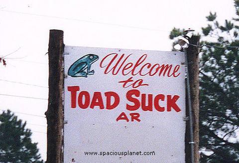 Toad Suck, Arkansas